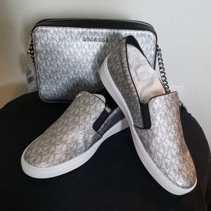 Michael Kors shoes and purse